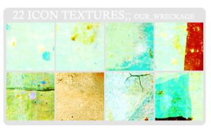 ICON TEXTURE SET 8 by skythecat