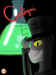 Caligari tipping his hat by A-Fox-Of-Fiction