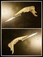 Jawbone Knife by KYghost