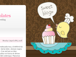 Free Sweet Blog for Wordpress by arwenita
