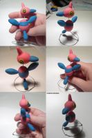 Porygon Z Sculpture