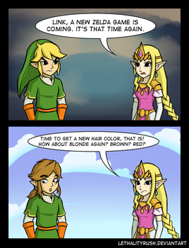 New Zelda by Lethalityrush
