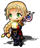 Chibi Mage - Fiesta Online by Artrisy
