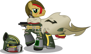 Boutyhunter Woodchip (aka Deadsights) by Vector-Brony