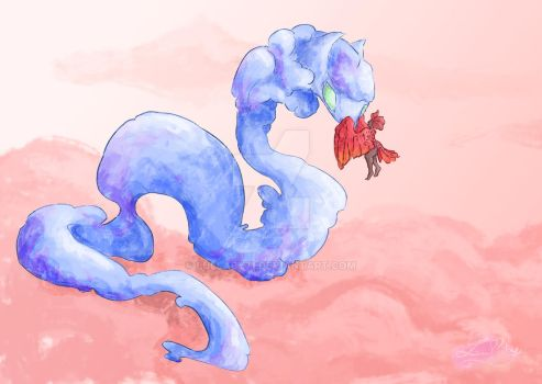 dragon cloud by lullaby71