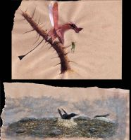 All Yesterdays pterosaurs by Hyrotrioskjan