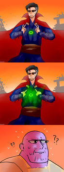 How to open the eye of Agamotto by Reikiwie