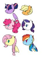 Mlp NG: Mane 6 Moms by Smileverse