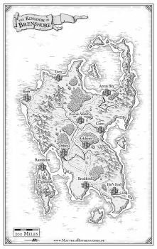Brenshore Map by artbymatthew