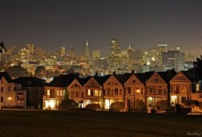 San Francisco Skyline VI by tt83x