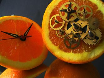 clock work orange by AlTerranDrac