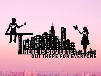 There Is Someone Out There For Everyone Papercut by DreamPapercut