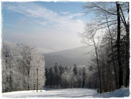 Winter Mountain by Shappi