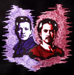 Clint and Tony 6 by weedenstein