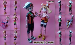 Brendan and May Papercraft by Olber-Correa