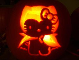 Hello kitty pumpkin carving by katrivsor on deviantart for Hello kitty pumpkin carving patterns