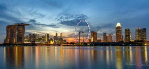 .:Blue Singapore:. by RHCheng
