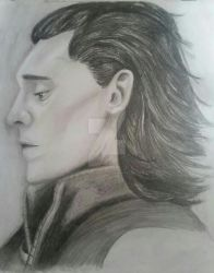Loki portrait by MyPinkLifecOc