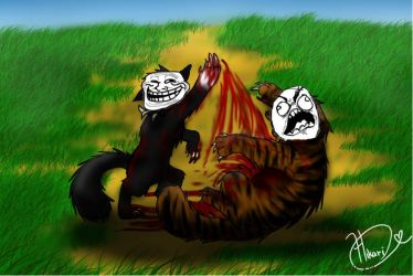 rage scourge and tigerstar by MCRKitteh
