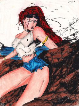 jean grey by shinichizen