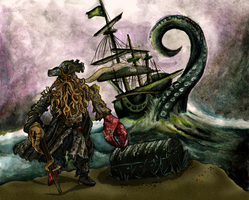 davy jones by blastedgoose