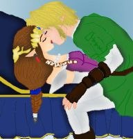 Sleeping Beauty ZeLink Style by AnaPaulaDBZ