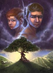 Cain and Abel by gabbachoo