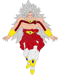 Legendary Omni Super Saiyan God Broly. by WOLFBLADE111