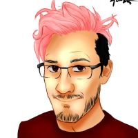 Markiplier Speedpaint by IsaValkyrie