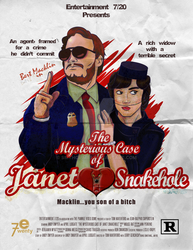 The Mysterious Case of Janet Snakehole by smthcrim89