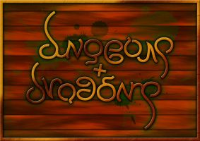 Dungeons and Dragons Ambigram by naysayer