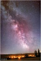 Milky way in summer by kopfgeist79