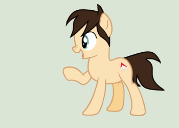Mlp Finn balor in a pony form by cuteflu
