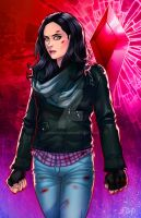 AKA Jessica Jones - Red Edition by JamieFayX