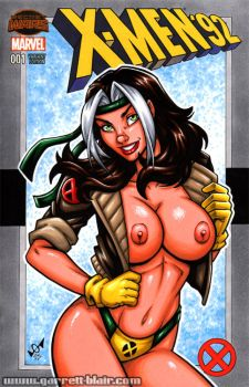 Naughty 90s Rogue sketch cover by gb2k