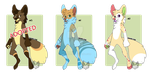 [OPEN] POINTS CANINE ANTHRO ADOPTS - 2/3 by Takarti