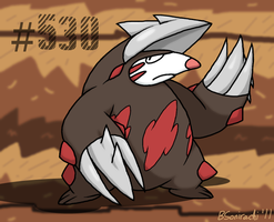 Holy moley it's Excadrill