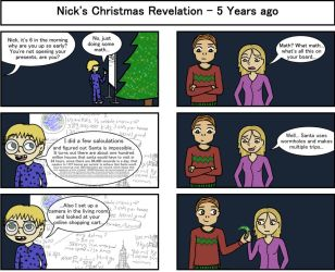 Nick's Christmas Wager by StefanPWinc