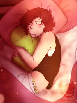 Sleeping Me by BlaziePanda