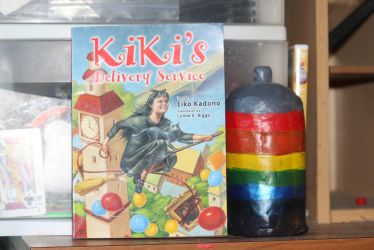 Kiki's Delivery Service Book [2003] by Pikachu-Train