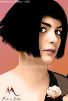Audrey Tautou by AndersonMathias