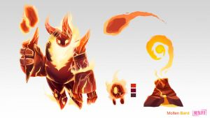 [SKIN CONCEPT] Molten Bard by The0utlander