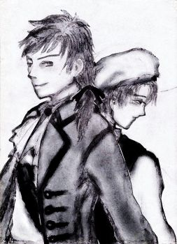 Nel Frattemoi Spain and Romano by silanhaye