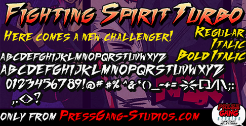 Fighting spirit turbo by andehpinkard