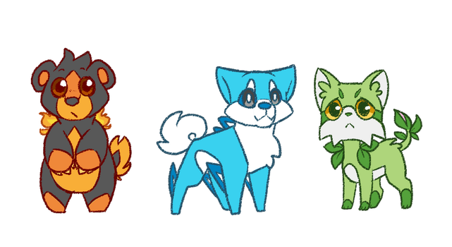 Starter Designs! by RiverSpirit456