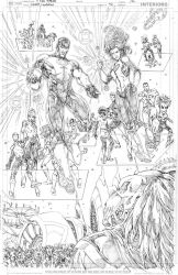Green Lanterns #42 page 12 PENCIL by vmarion07