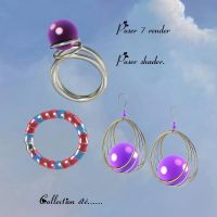 Summer Fun Jewelry Collection, by Anima Gemini by FantasiesRealmMarket