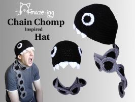 Amaze-ing Chain Chomp Hat by Amaze-ingHats
