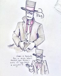 Trans Issues Dont Matter to Black Hat by lucicatcat