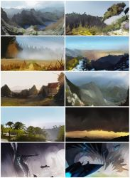 November Speedpaints4 by bradwright